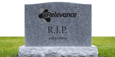 eRelevance Closed for Good